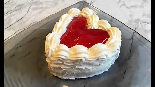 Пирожное Сердце / Cake Heart / Десерт / Мини Торт / Valentine
