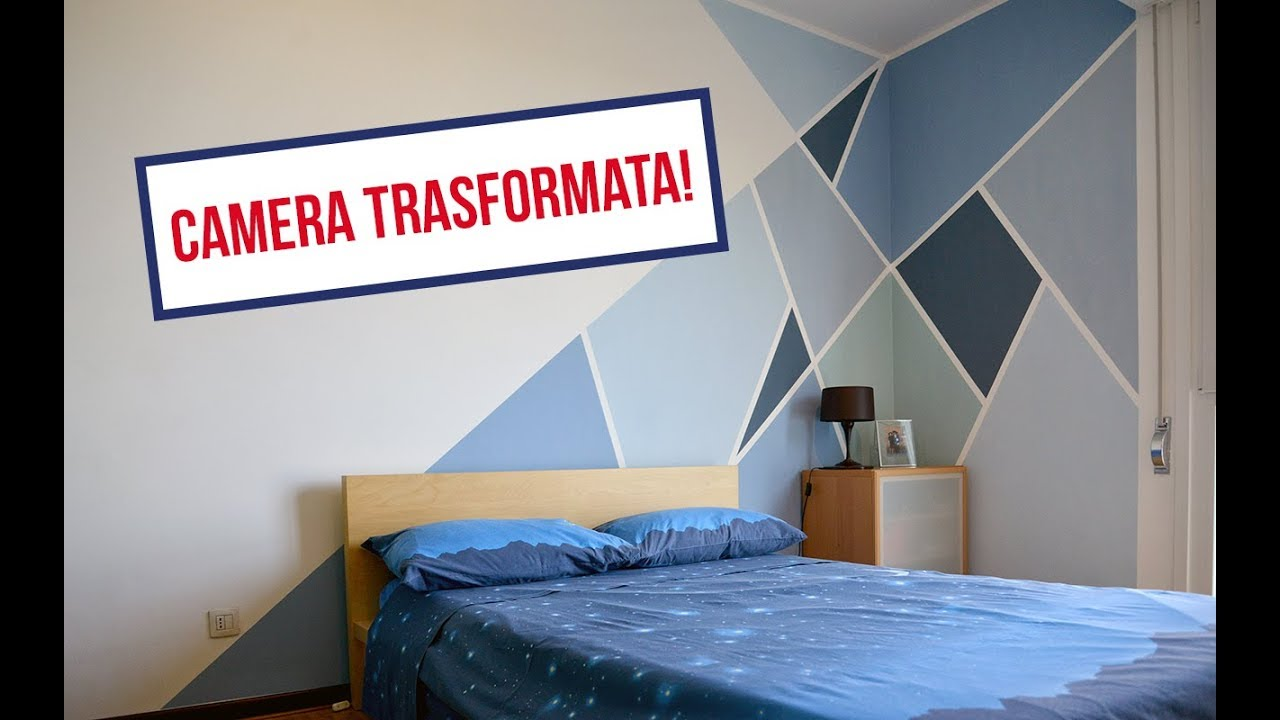 Decorare le pareti di una camera da letto in modo creativo for Decorare le pareti