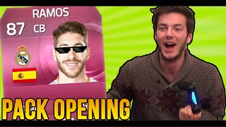 BOOM! SERGIO RAMOS IN A PACK! - FIFA15 Pack Opening