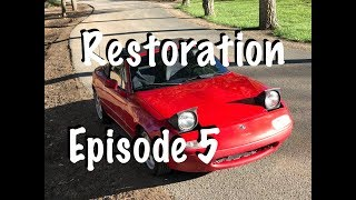 Miata Restoration 5: Fixing Dents and ready to sell!