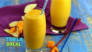Mango Apple Smoothie by Tarla Dalal