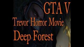 Gta V   Horror Movie   Trevor was afraid of Ghost?