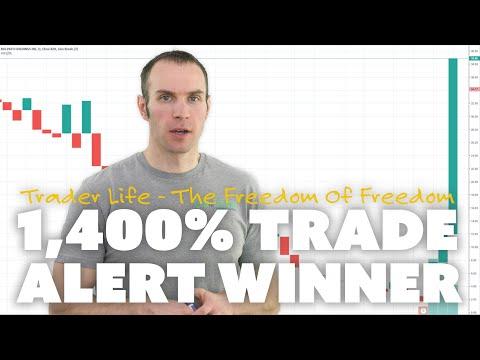 1,400% Trade Alert Winner.
