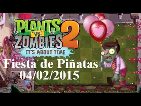 Plants vs Zombies 2 Its About Time iOS  Fiesta de Piatas
