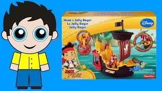 Hook's Jolly Roger Pirate Ship Play Set from Jake and the Neverland Pirates by Fisher-Price!