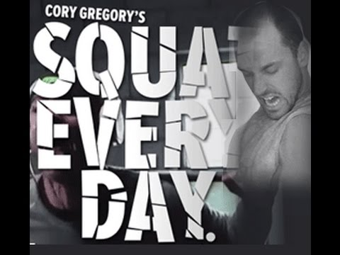Cory gregory squat everyday day 5