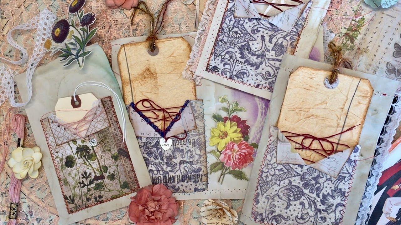 Corset Pocket For Junk Journals Diy Embellishments I M