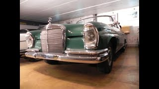 MERCEDES BENZ 220SE - 1964 - FRENCH CAR - HOW I GOT IT RUNNING - MERCEDES PAS