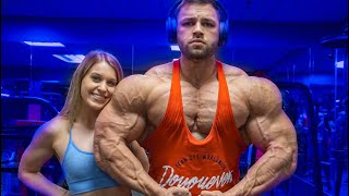 COUPLES CHEST WORKOUT 2.5 WEEKS OUT | MR. OLYMPIA QUALIFIER SHOW