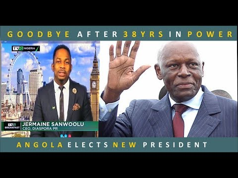 Angolan President Dos Santos Steps Down After 38yrs In Power