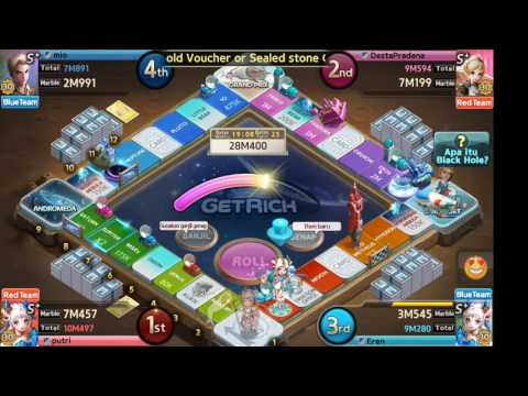 Line Lets Get Rich - Antariksa Map (team match) - Android GamePlay Indonesia