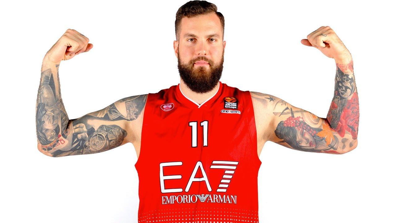 Euroleague Weekly Focus On Miroslav Raduljica Ea7 Emporio Armani Milan Youtube