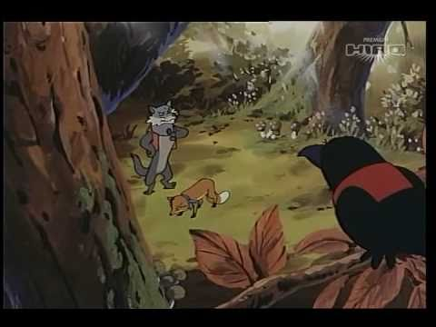 Le fiabe son fantasia il lupo e la volpe 1 2 youtube
