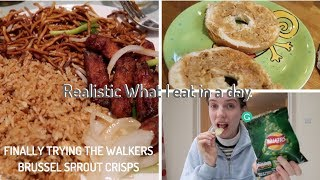 Realistic What I eat in a day (grack's back)