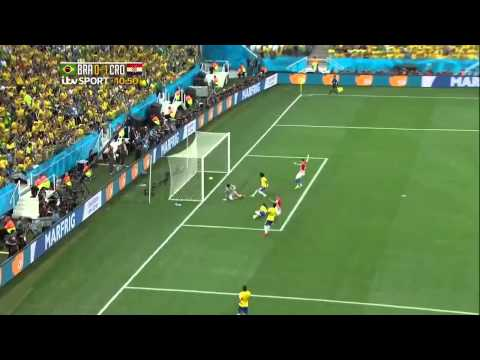 Marcelo self goal croatia first goal Brazil 0   1 Croatia Rate A Goal