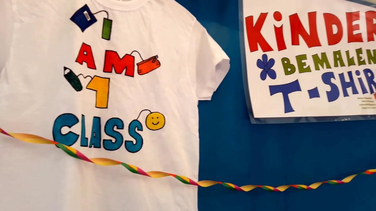 Kinder Bemalen T Shirts Auf Dem Stadtteilfest Herbstzauber In Der