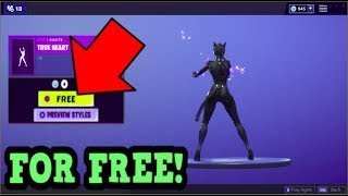 HOW TO GET TRUE HEART EMOTE FOR FREE! (Fortnite Old Emotes)