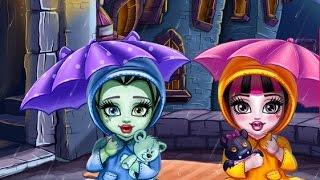 Monster High Игры—Дисней Принцесса Дракулаура—Онлайн Видео Игры Для Детей Мультик 2015