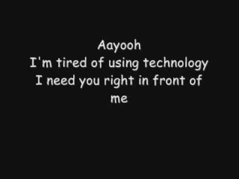 Milow - Ayo Technology (Lyrics)