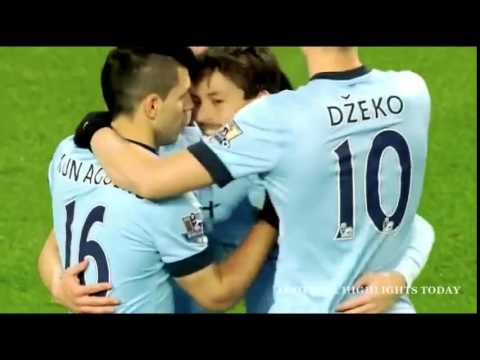 Manchester City vs Newcastle 5-0 2015 - All Goals & Highlights - 21/02/2015 ◄ High Quality