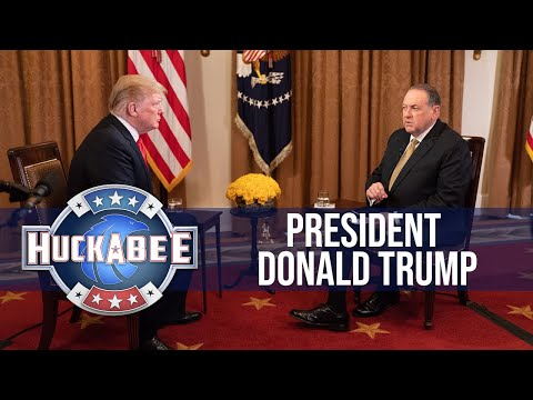 Gov. Mike Huckabee's Full Interview with President Trump | T