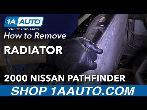 How to Replace Radiator 96-00 Nissan Pathfinder
