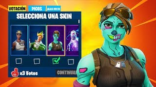 *NEW SPECIAL EVENT* SKINS VOTATION SYSTEM in FORTNITE STORE TODAY!! 😱🔥