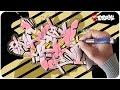 Graffiti Lernen - Rock Funky Style Schritt für Schritt