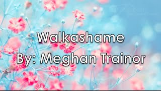 Watch Meghan Trainor Walkashame video