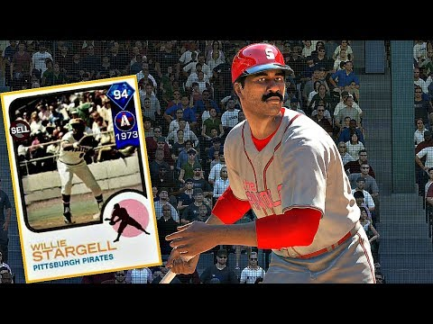 DIAMOND WILLIE STARGELL IS A BEAST!! MLB The Show 17 Diamond Dynasty