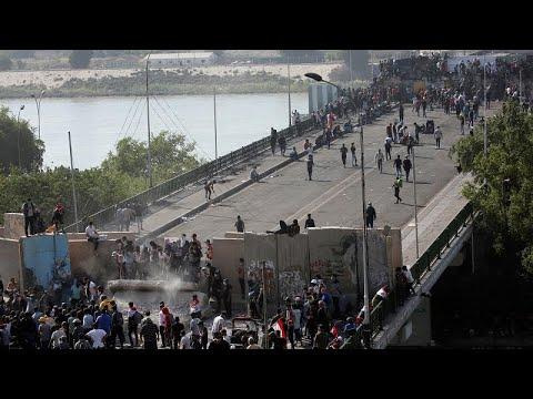 احتجاجات العراق تطال موانئه وضغوط دبلوماسية لحل الأزمة …  - نشر قبل 1 ساعة