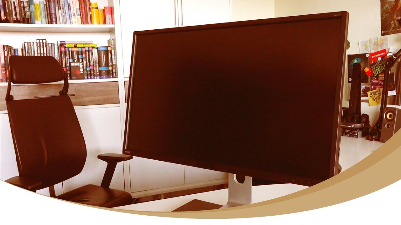 benq bl3201pt im test 32 zoll uhd monitor 4k f r. Black Bedroom Furniture Sets. Home Design Ideas