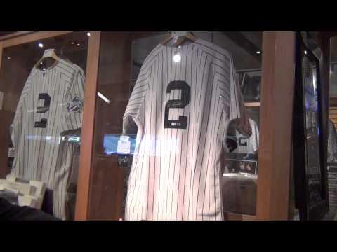 A Tour of the Yankee Steiner Store with Steiner Sports CEO Brandon Steiner
