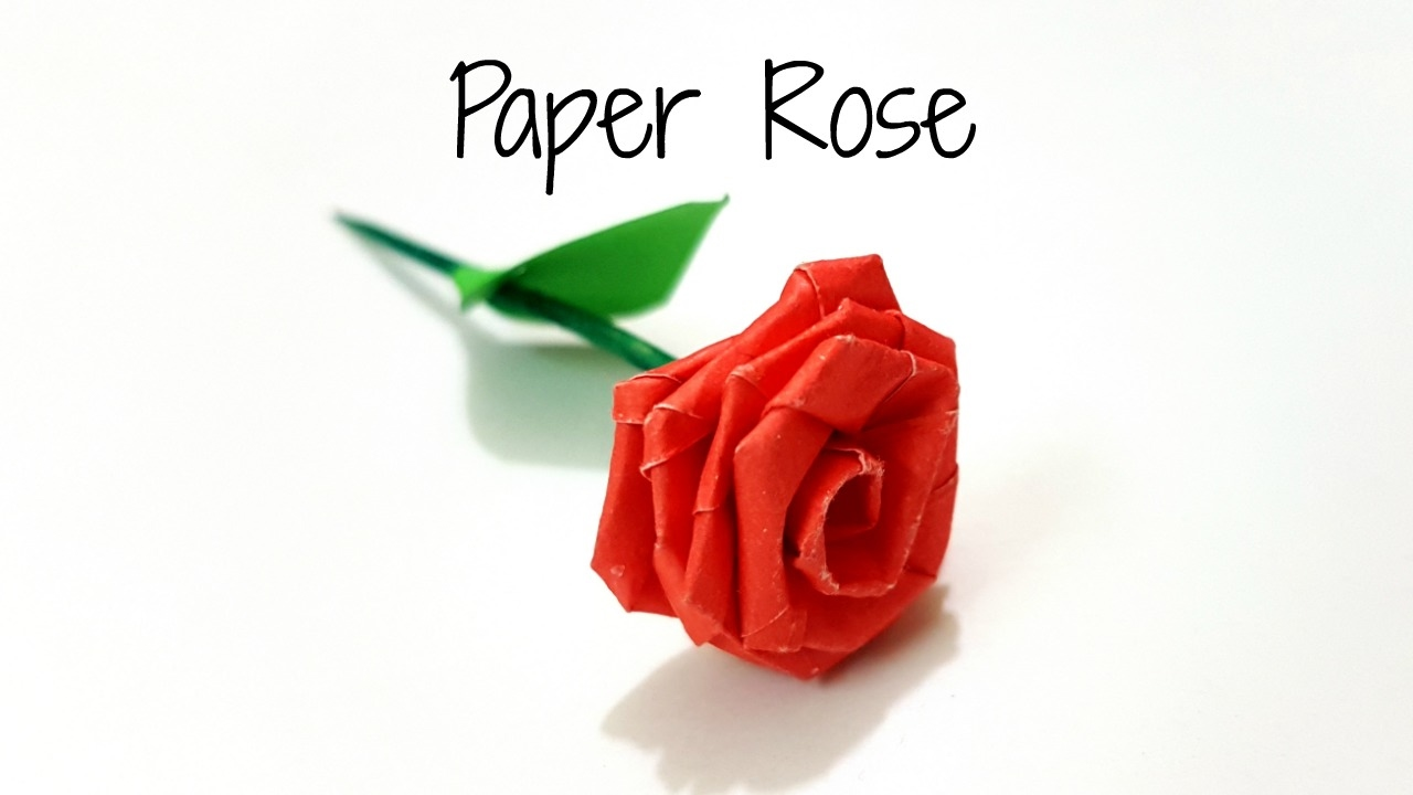 Small paper flowers craft - Diy Paper Rose How To Make Small Paper Rose With Paper Strips Paper Craft Diy Paper Flower