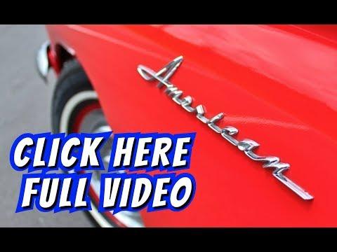 1962 Rambler American 400 Convertible