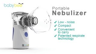 Babybee Mesh Portable Nebulizer