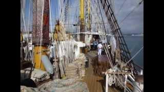"Indonesian Navy training sail ship ""Kri Dewaruci"""