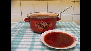 Ароматный СВЕКОЛЬНИК. Удивительно вкусный витаминный суп!