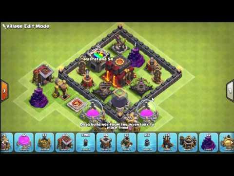 Base Town Hall 10 Tanpa Inferno Terkuat Youtube