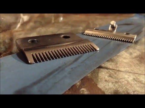 Как точить ножи машинки для стрижки?