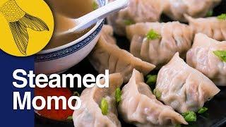 Momo Recipe: Steamed Pork Momo: Easy Pork Dumplings  Momo Recipe in Bengali