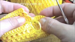 Repeat youtube video Crochê - Sapatinho