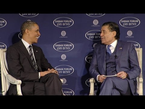 Saban Forum 2013: A Conversation with President Barack Obama