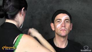 Pirate Makeup How-to, Swashbuckling Pirate Part 1 - Halloween Makeup Tutorial