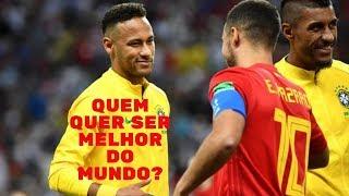 O que Hazard pode ensinar a Neymar