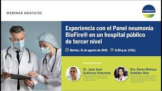 Caso de éxito panel BioFire® neumonía en hospital colombiano de Nivel III