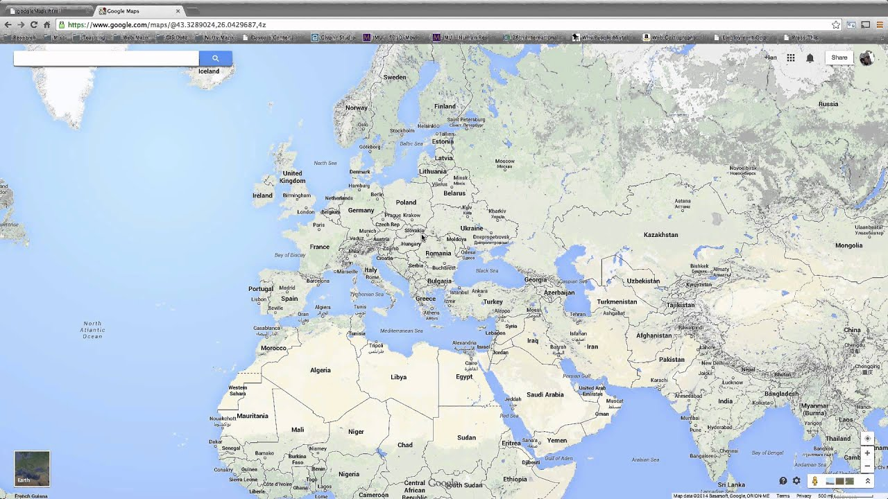 Web cartography creating and editing a kml file using google maps web cartography creating and editing a kml file using google maps online gumiabroncs Images