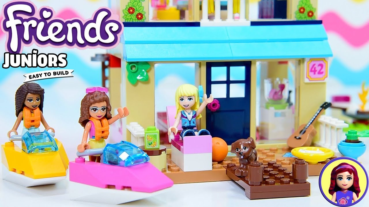Lego Friends Stephanies Lakeside House Junior Easy To Build Silly
