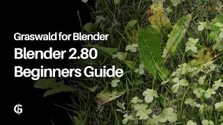 How to use Graswald for Blender 2.80