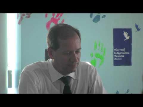 Graham Farrant Lets Talk to Thurrocks Voluntary Sector